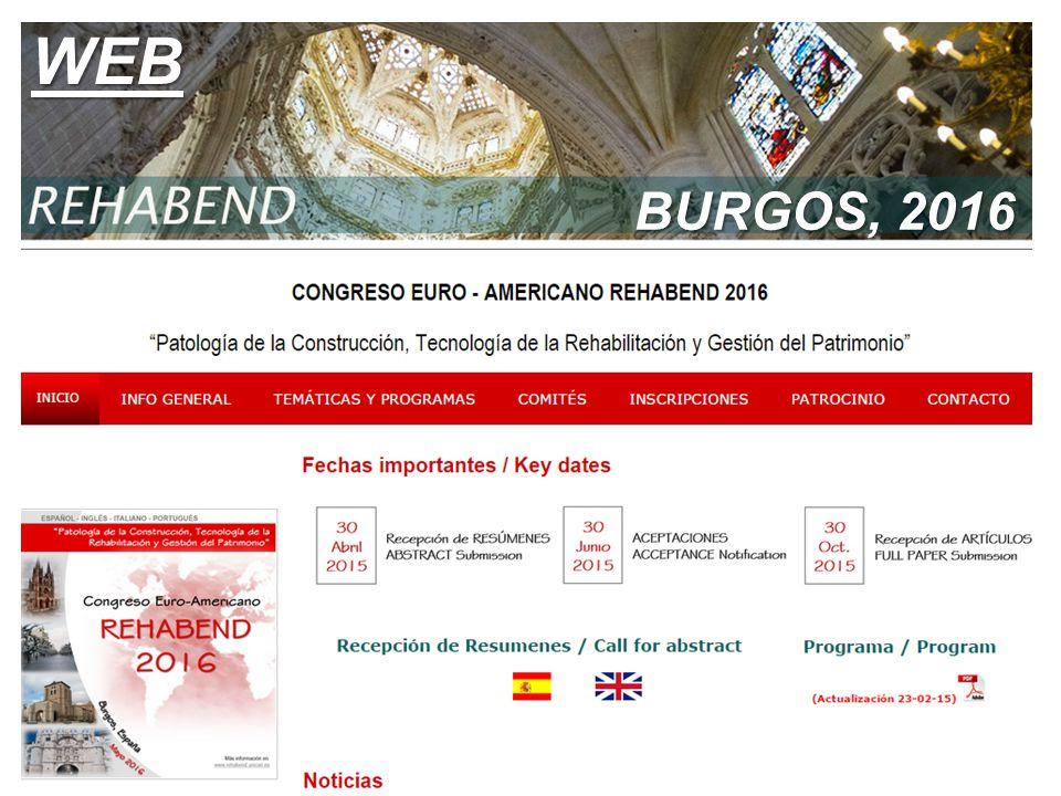 BURGOS, 2016 WEB