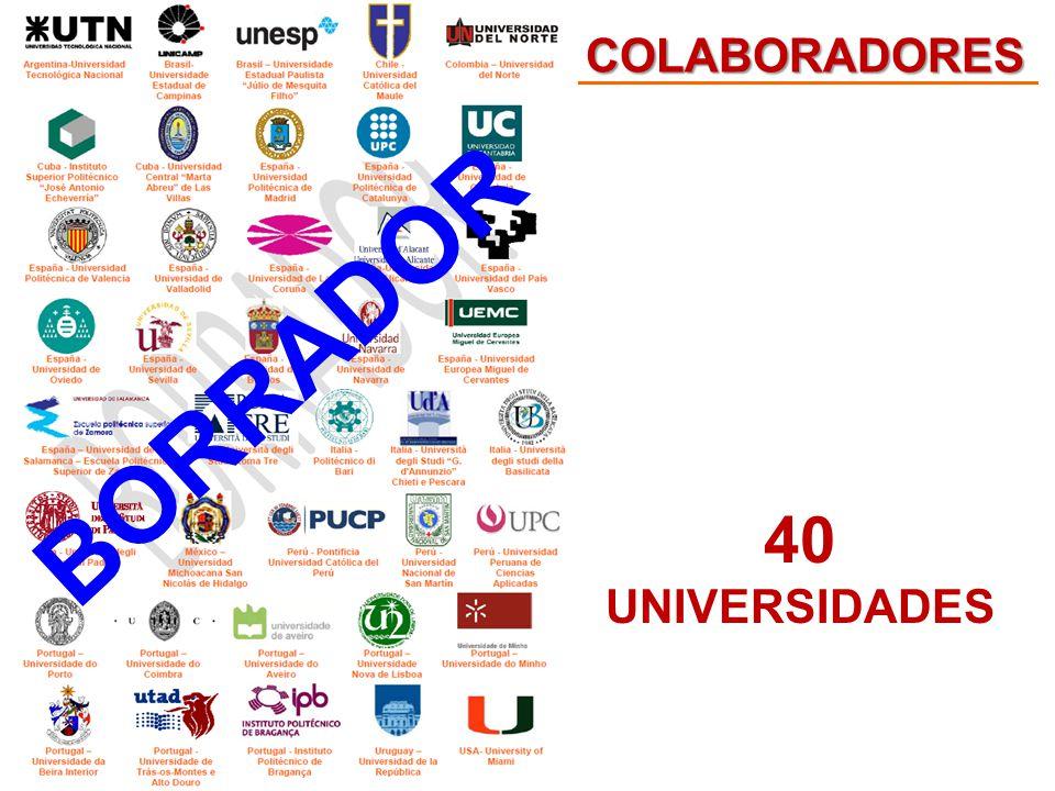COLABORADORES 40 UNIVERSIDADES BORRADOR