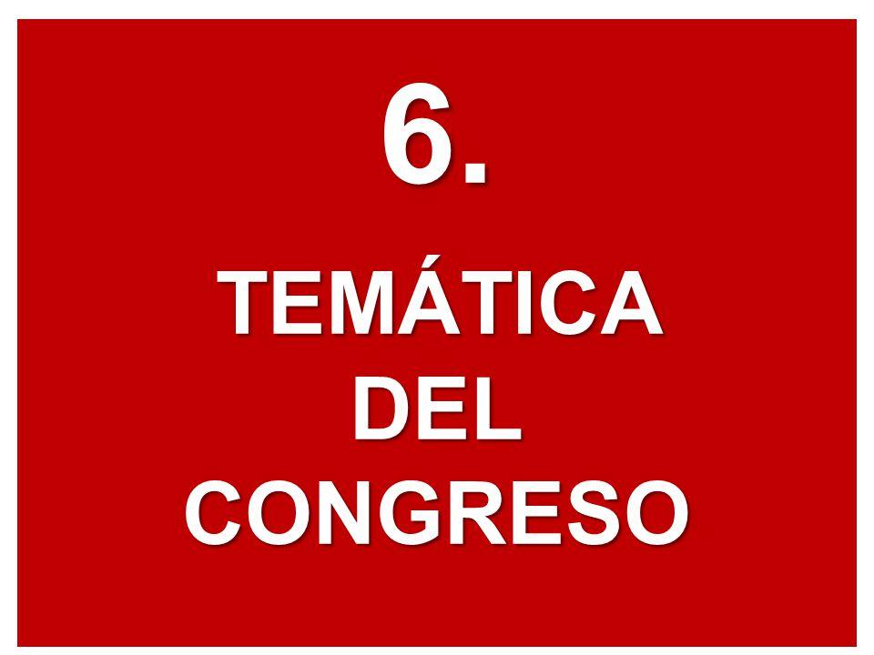 6.TEMÁTICADELCONGRESO