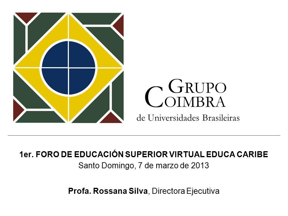 1er. FORO DE EDUCACIÓN SUPERIOR VIRTUAL EDUCA CARIBE Santo Domingo, 7 de marzo de 2013 Profa.