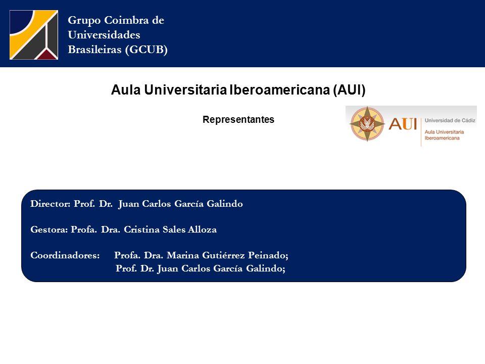 Grupo Coimbra de Universidades Brasileiras (GCUB) Director: Prof.