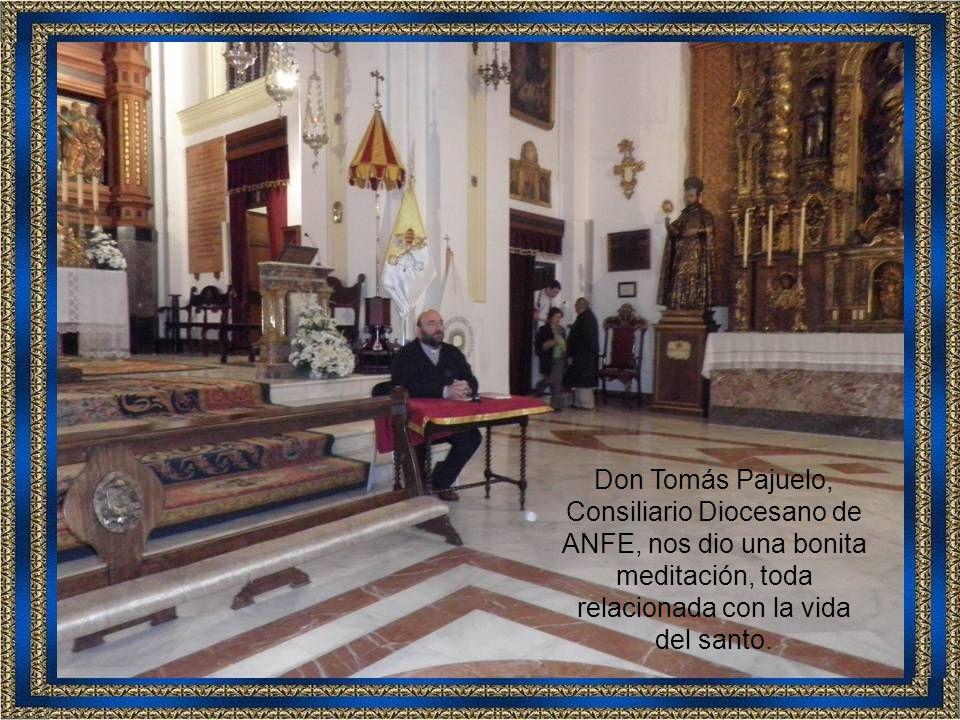 Don Carlos Gallardo, Vicerrector de la Basílica, nos explicó algo más de historia.