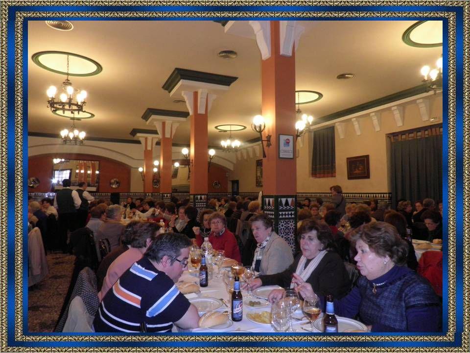 Almorzamos en el Restaurante Los Arcos.