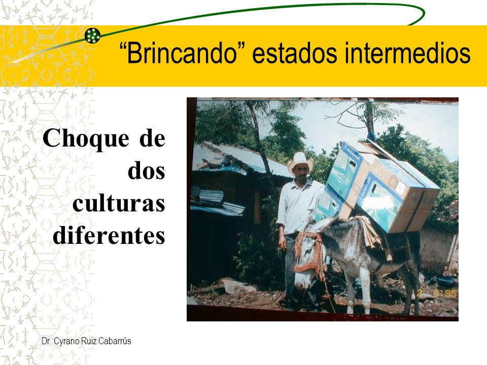 Dr. Cyrano Ruiz Cabarrús Brincando estados intermedios Choque de dos culturas diferentes
