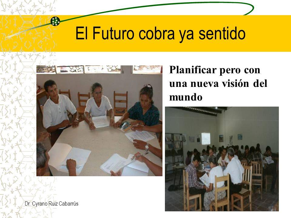Dr. Cyrano Ruiz Cabarrús El Futuro cobra ya sentido Planificar pero con una nueva visión del mundo