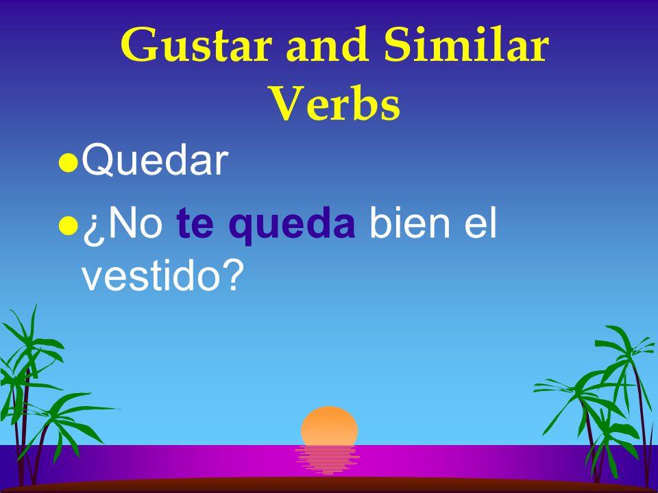Gustar and Similar Verbs l Interesar l Nos interesan los programas musicales.