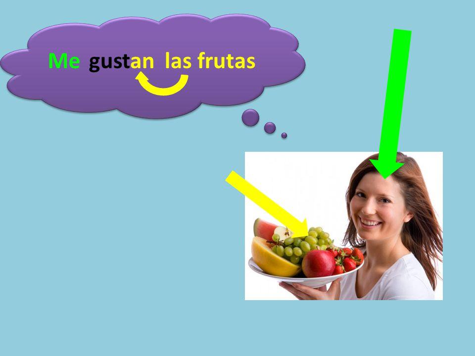 Megustan las frutas