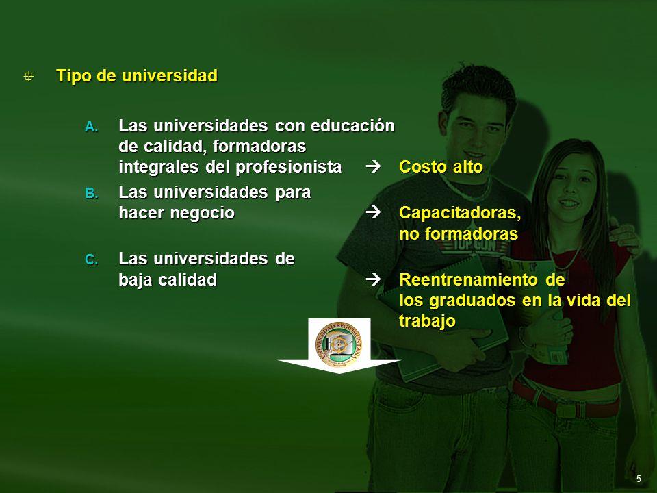 5  Tipo de universidad A.
