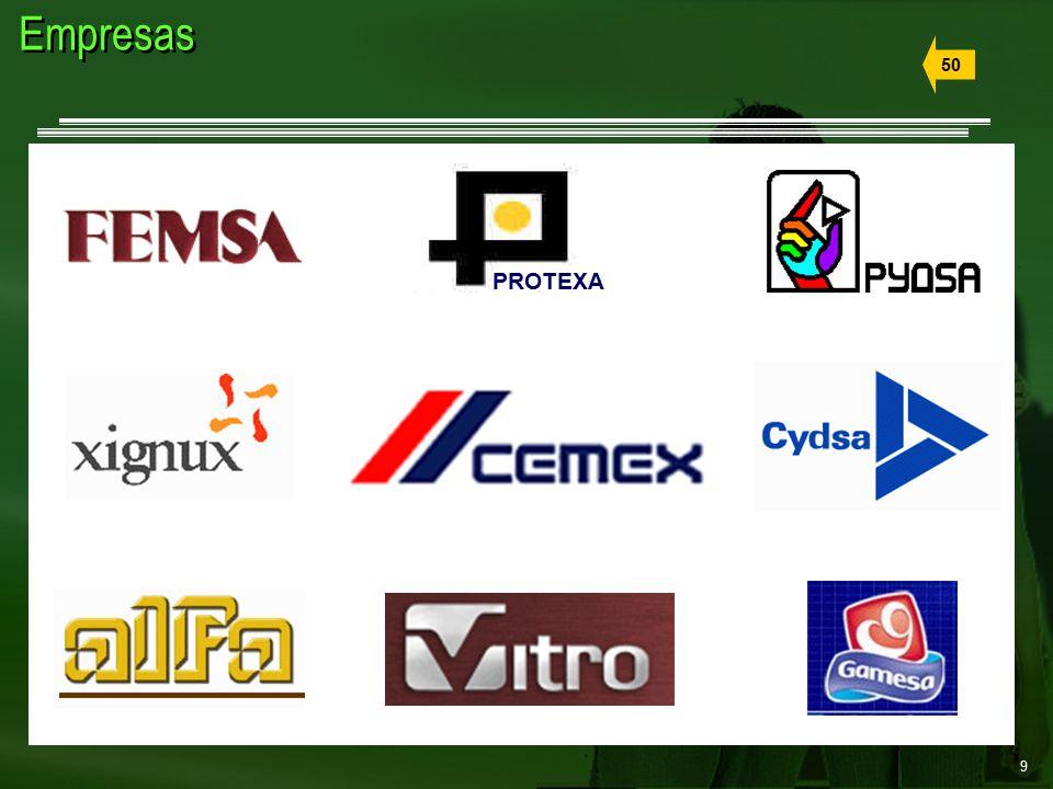 9 Empresas 50 PROTEXA