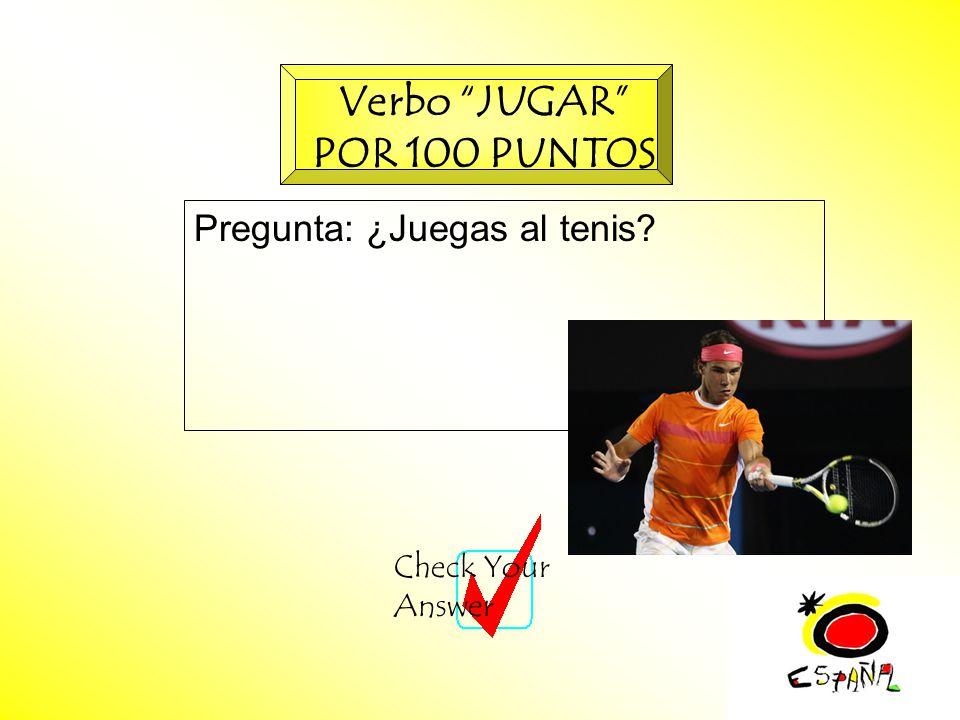 M.K.Klamer_2000_Revised 2002 Pregunta: ¿Juegas al tenis.