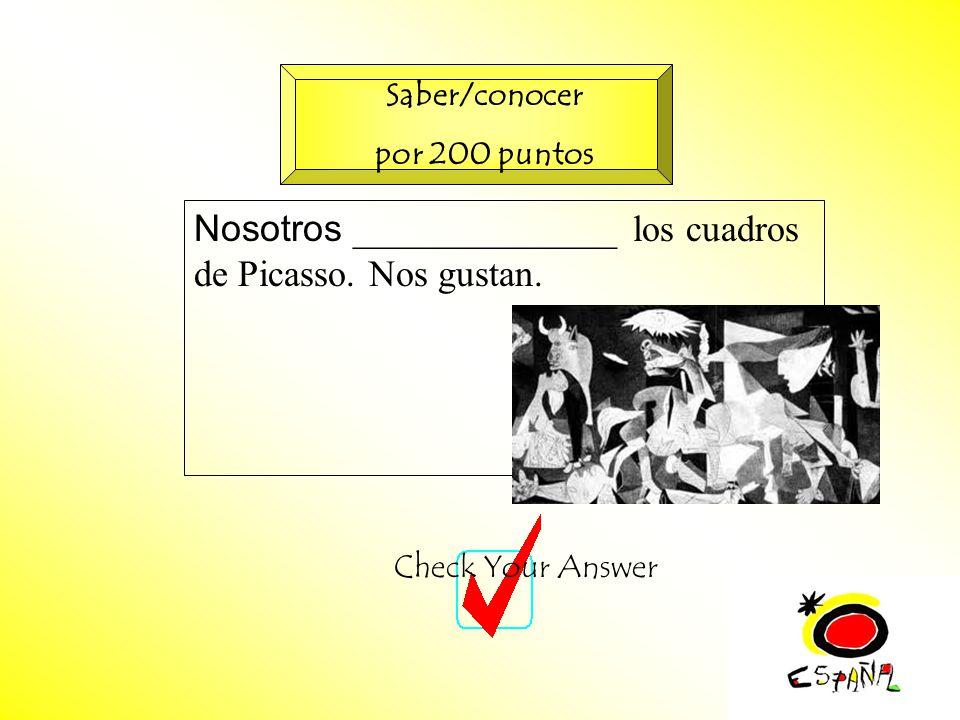 M.K.Klamer_2000_Revised 2002 Nosotros ______________ los cuadros de Picasso.