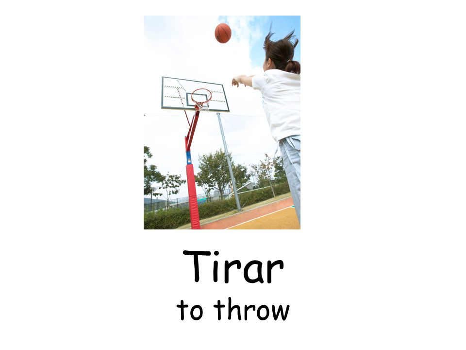 Tirar to throw