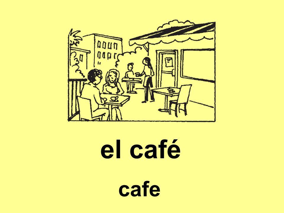 el café cafe