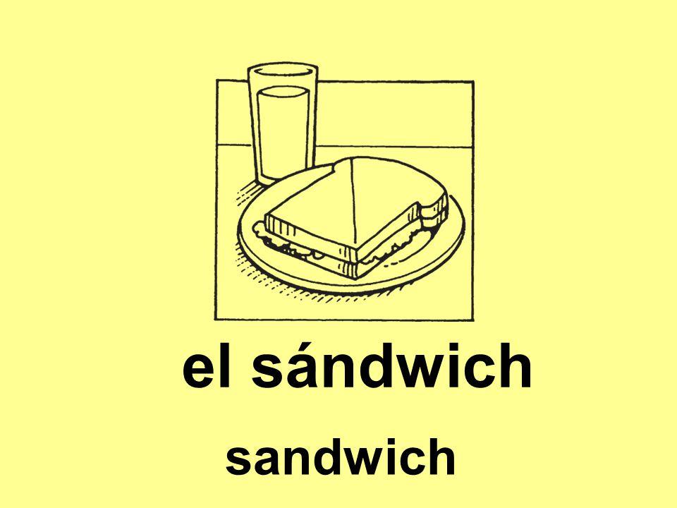 el sándwich sandwich