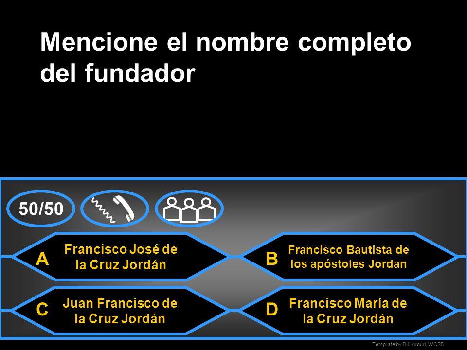 Template by Bill Arcuri, WCSD Guzmán Blanco Mencione el primer presidente de Venezuela MonagasCrespo Paez A CD B 50/50