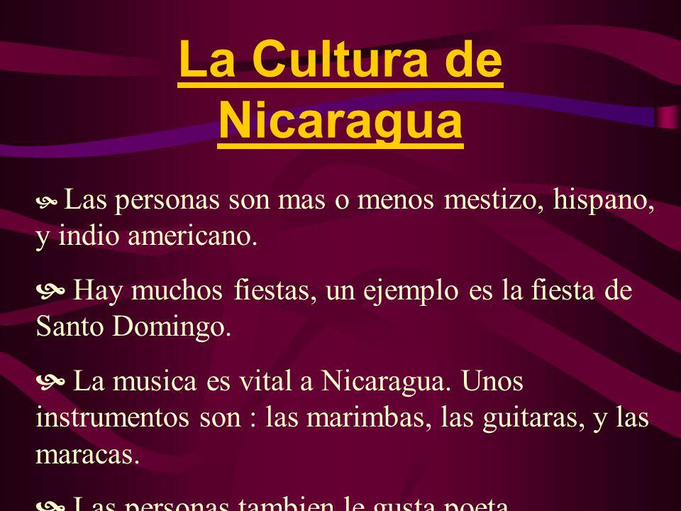 Las Personas de Nicaragua  Hay 4,272,352 personas en Nicaragua.