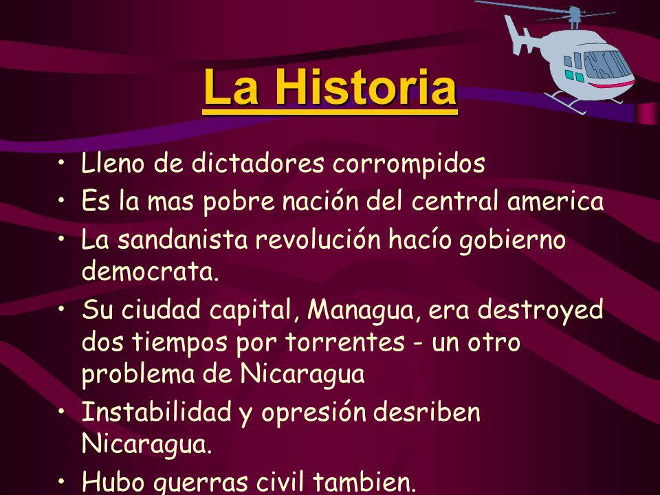 La Cultura de Nicaragua  Las personas son mas o menos mestizo, hispano, y indio americano.