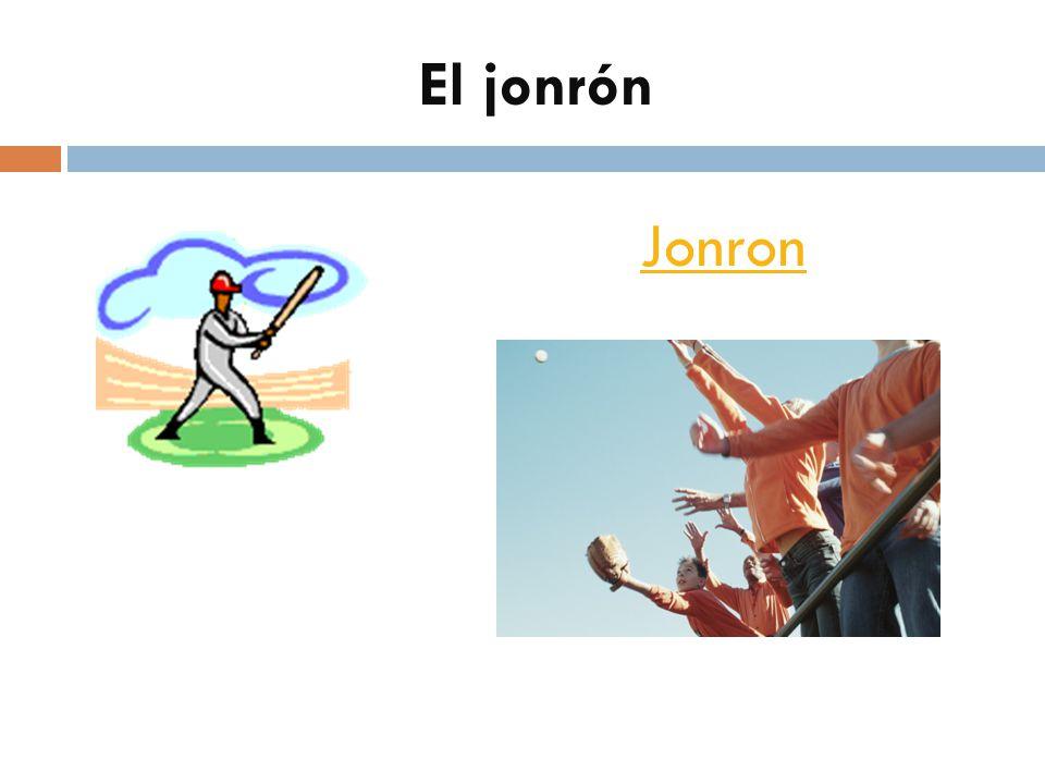 El jonrón Jonron