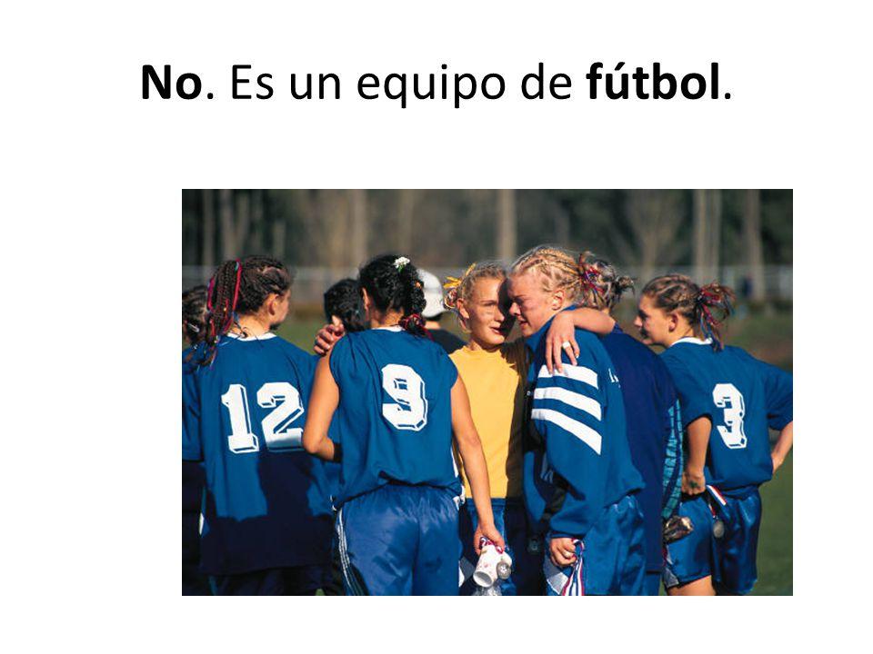 No. Es un equipo de fútbol.