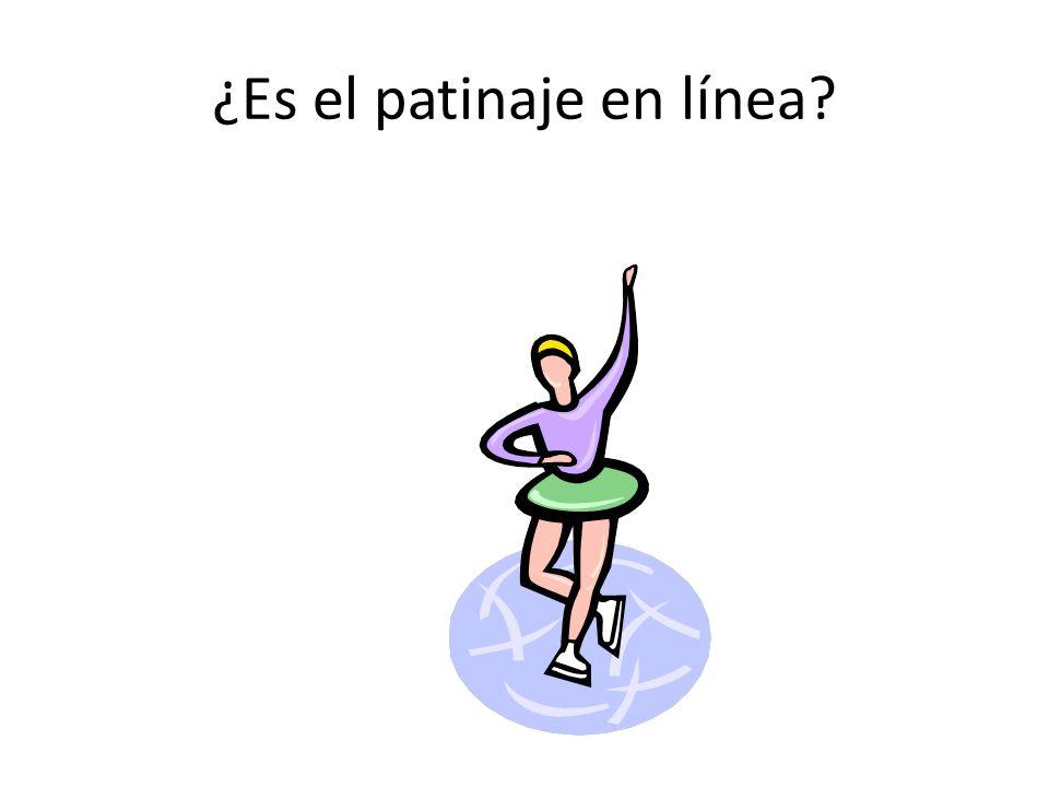 ¿Es el patinaje en línea