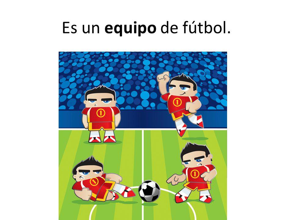 Es un equipo de fútbol.
