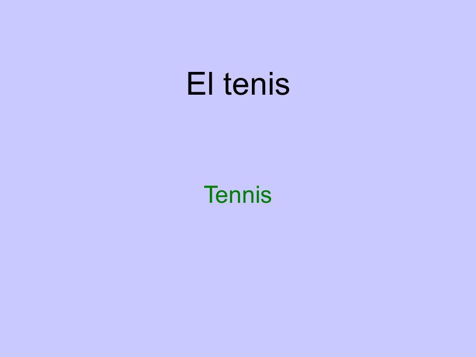 El tenis Tennis