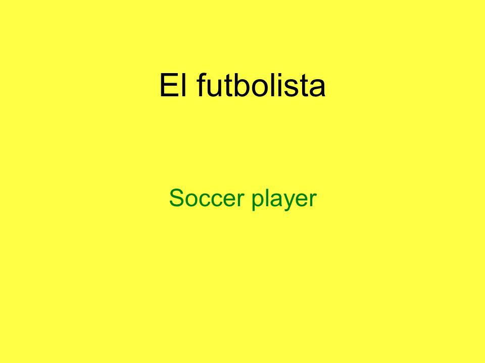 El futbolista Soccer player