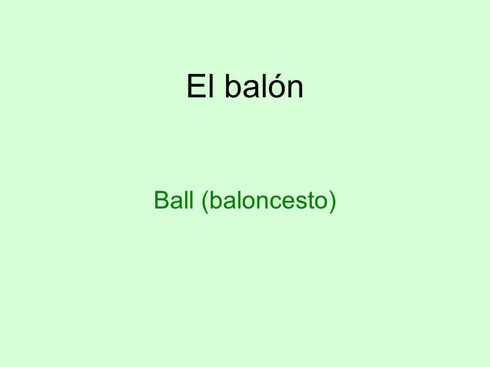 El balón Ball (baloncesto)