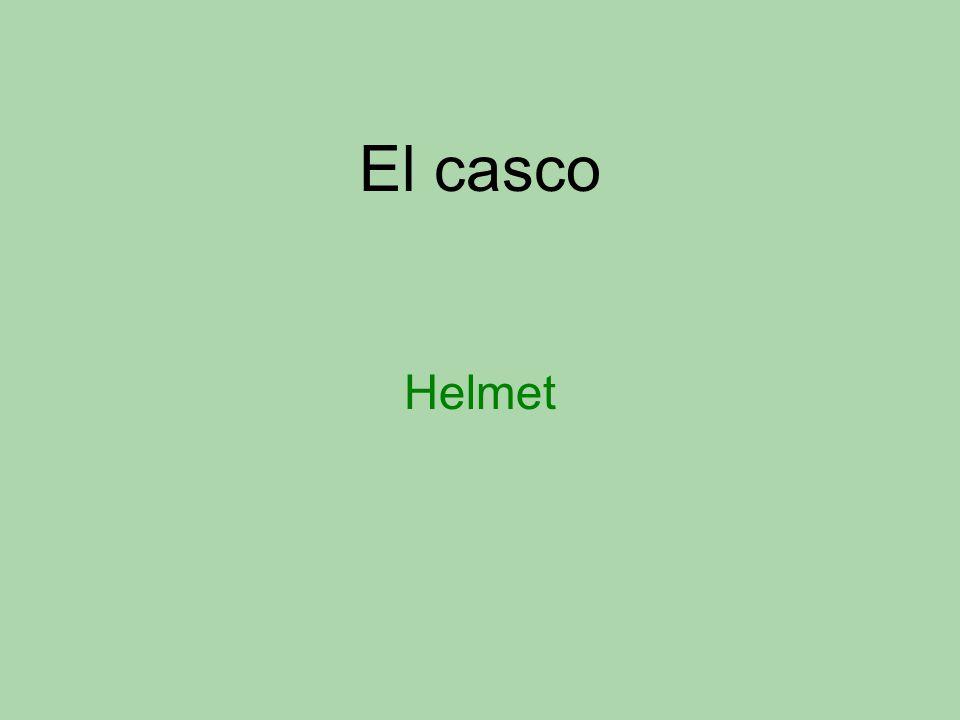 El casco Helmet