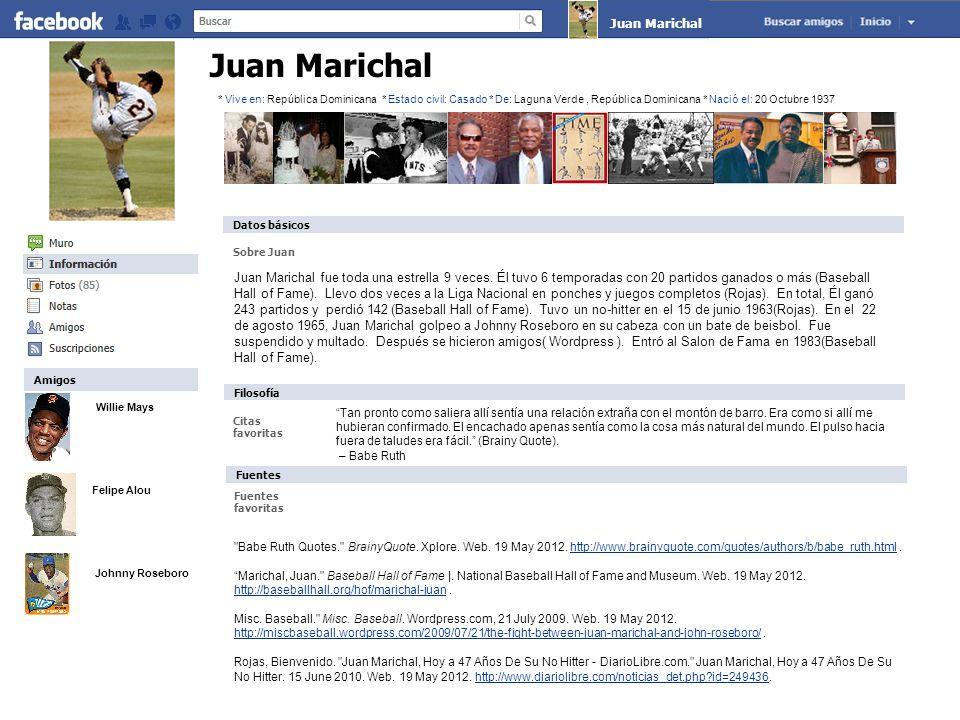 Willie Mays Felipe Alou Johnny Roseboro Juan Marichal Sobre Juan Tan pronto como saliera allí sentía una relación extraña con el montón de barro.