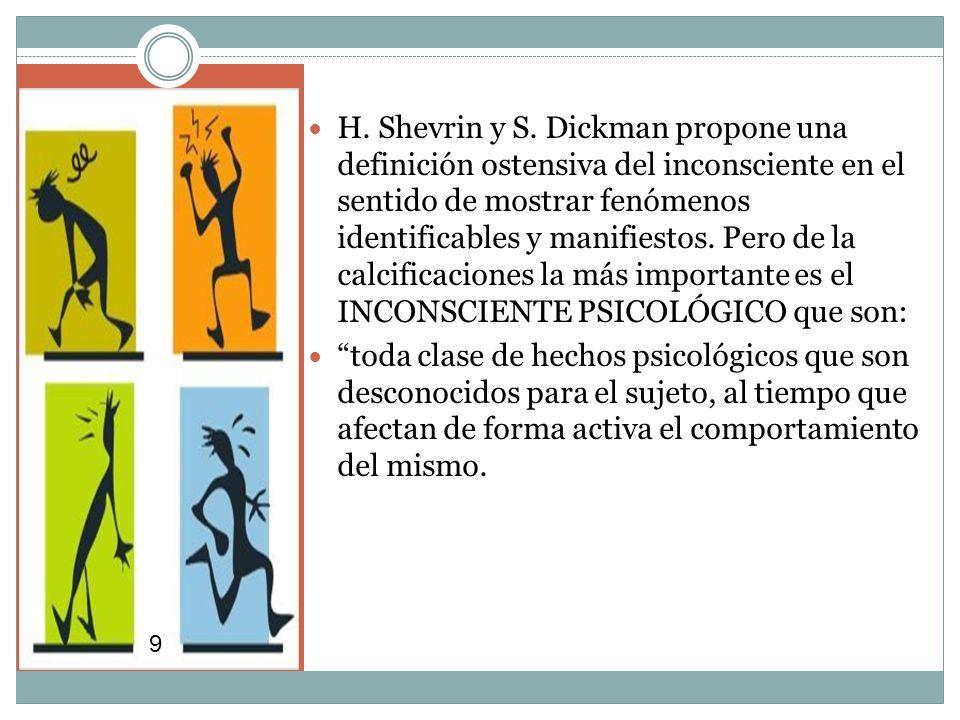 H. Shevrin y S.