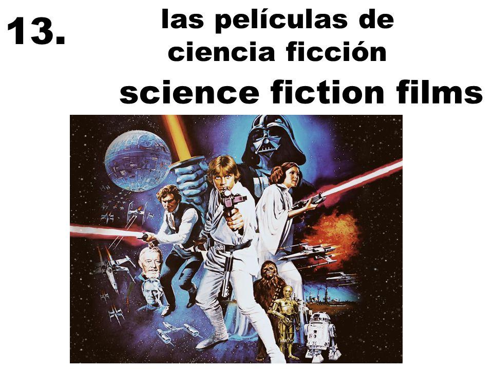 las películas de ciencia ficción 13. science fiction films