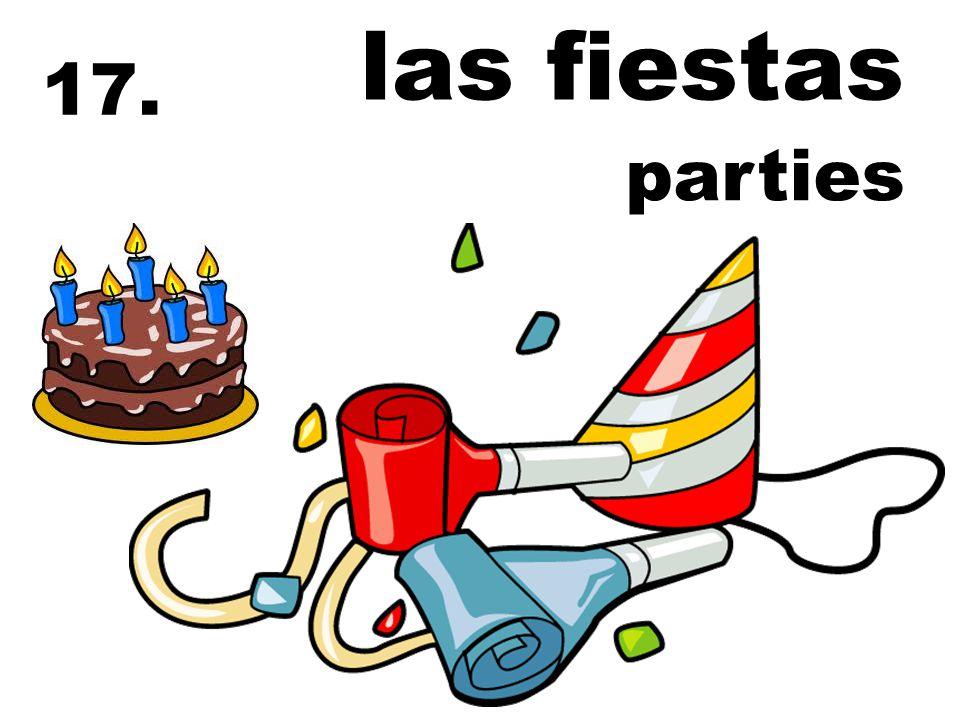 17. parties las fiestas