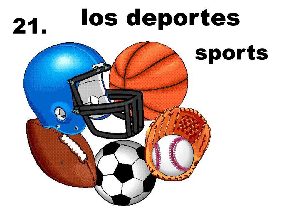 los deportes 21.