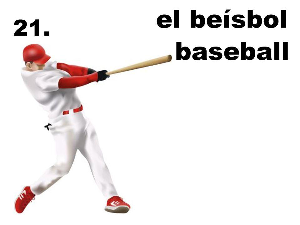 el beísbol 21. baseball
