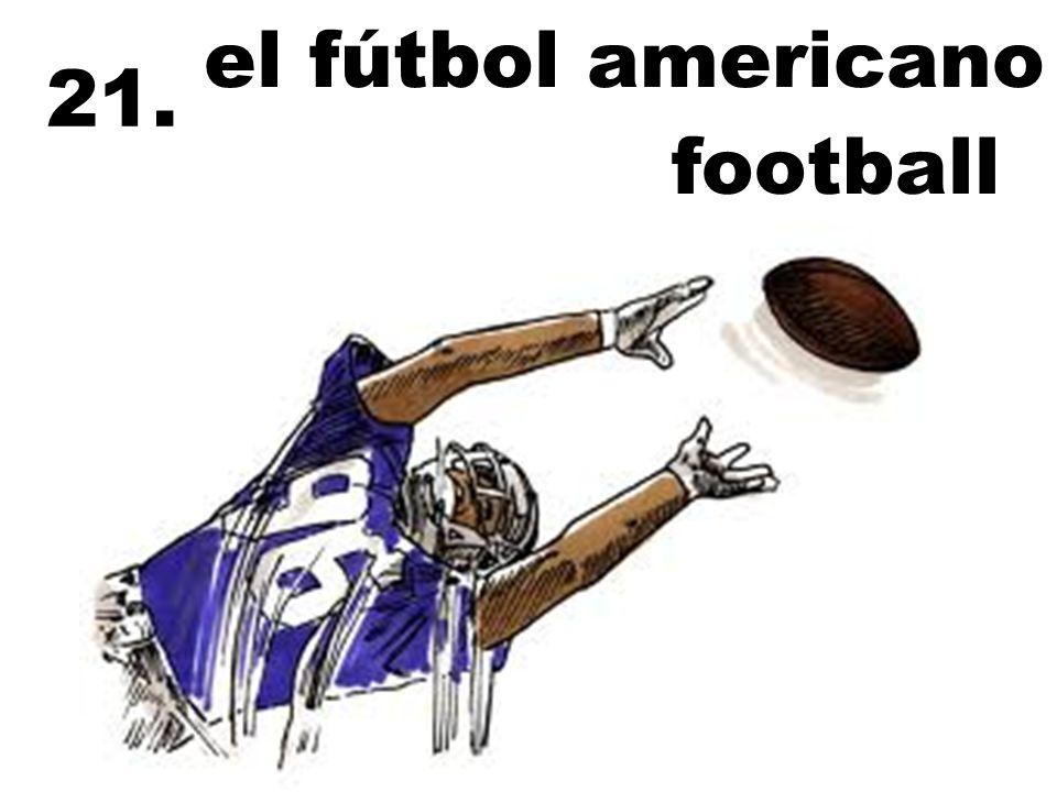 el fútbol americano 21. football