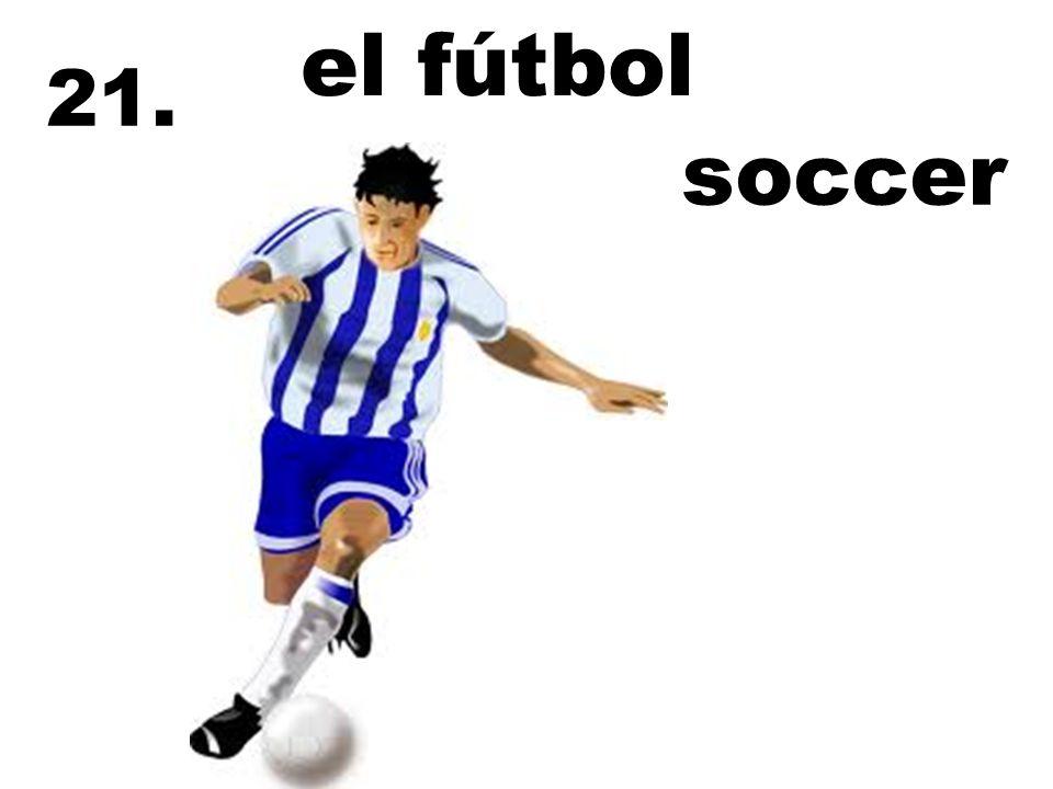 el fútbol 21. soccer