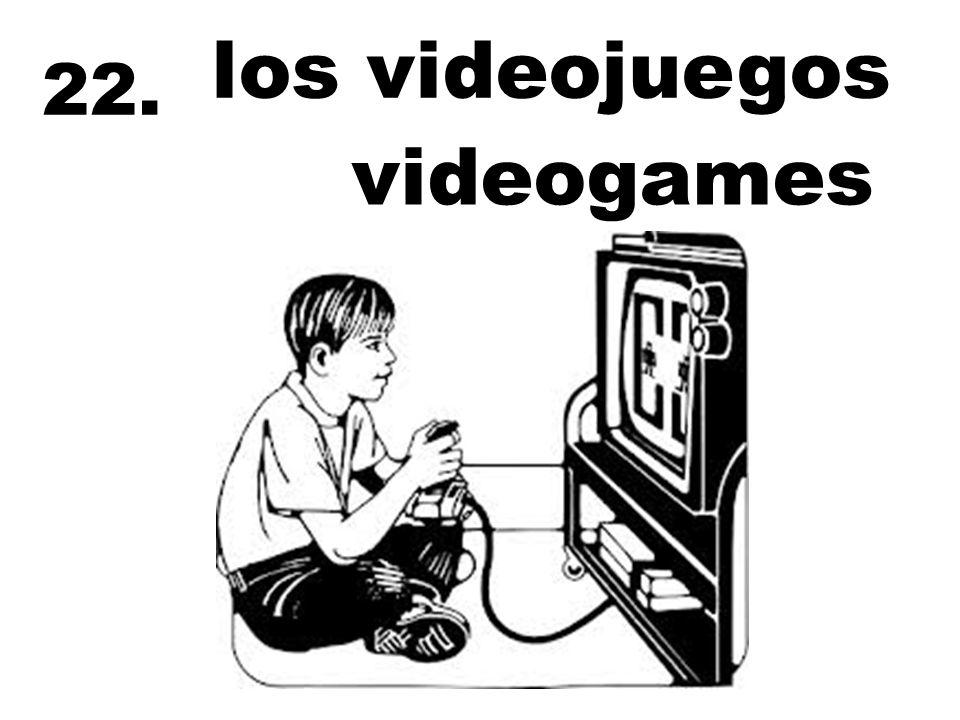 los videojuegos 22. videogames
