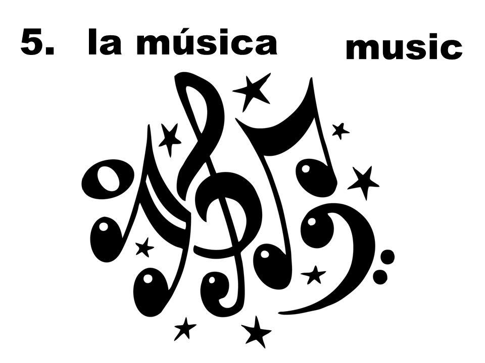 la música music 5.