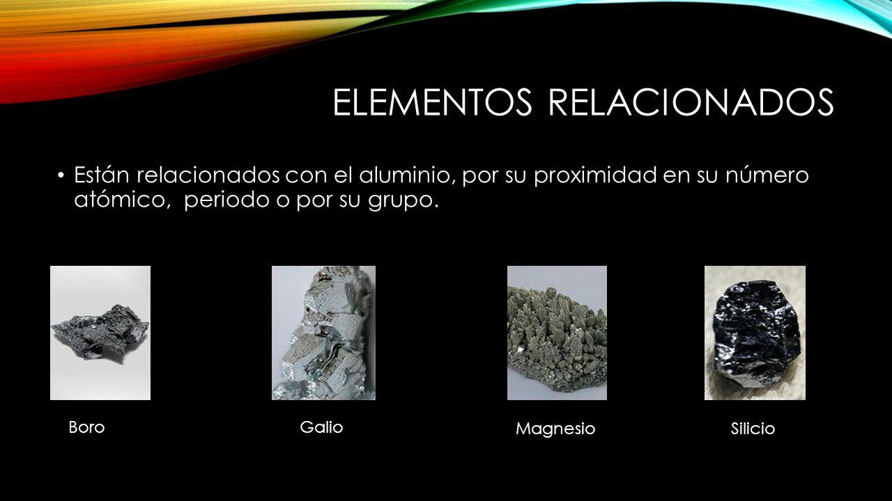 USOS Se utiliza para fabricar latas y papel de aluminio.