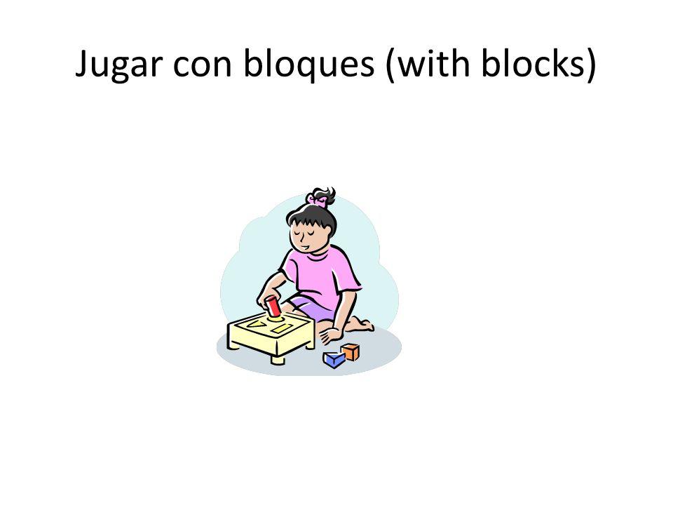 Jugar con bloques (with blocks)