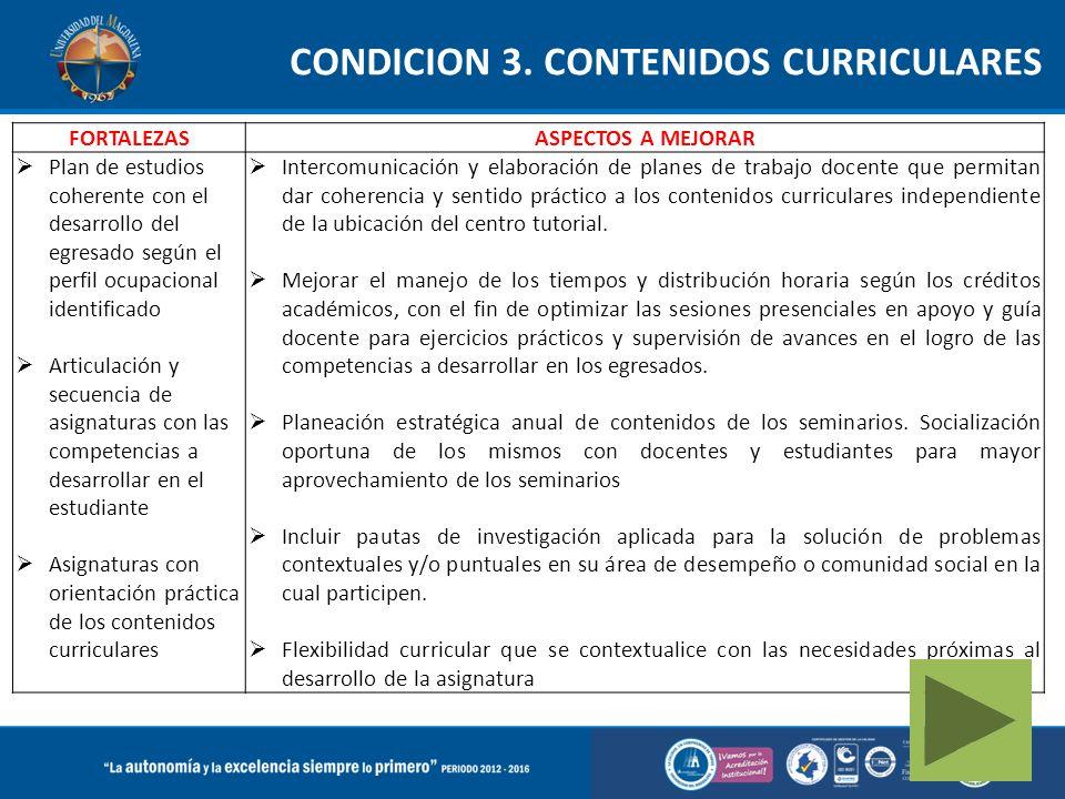 CONDICION 3.