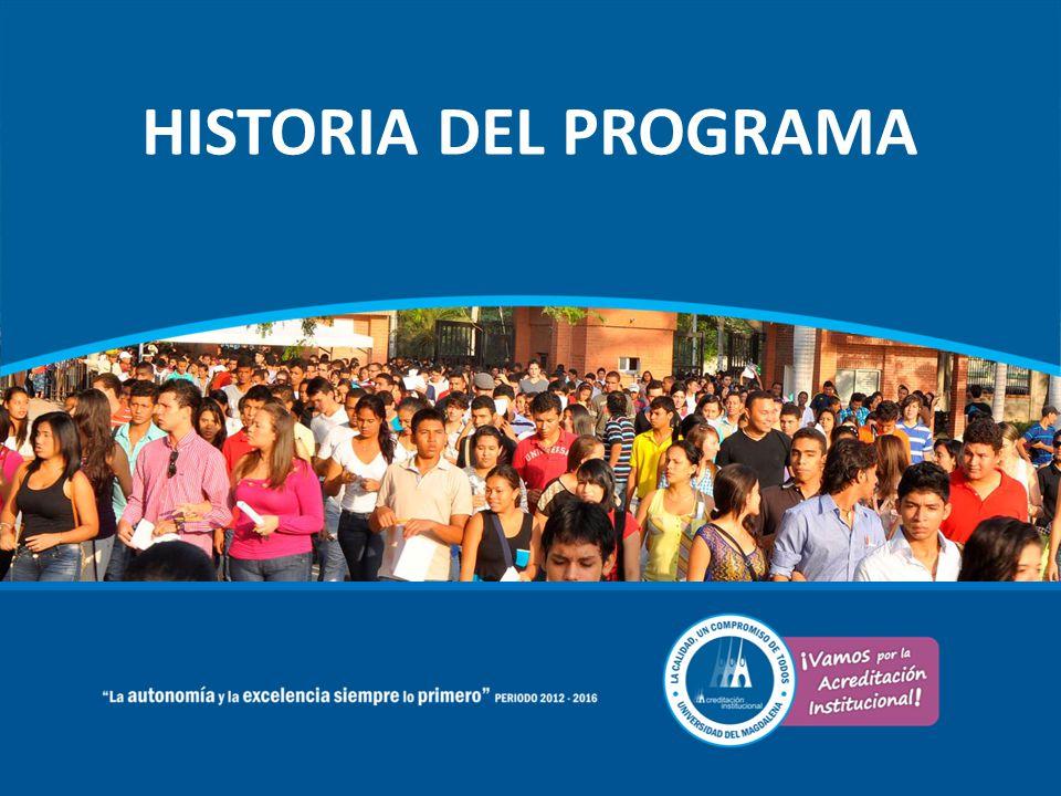 HISTORIA DEL PROGRAMA