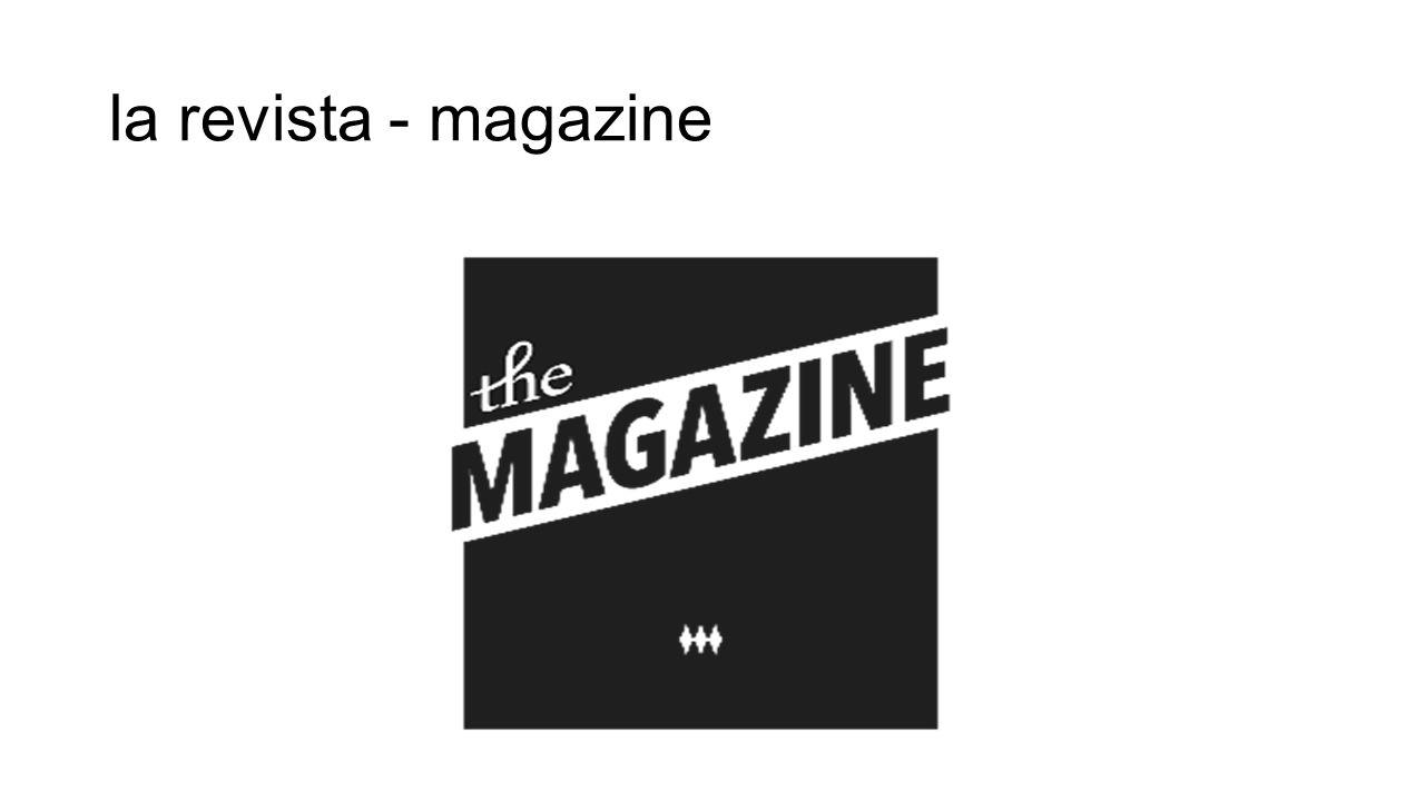 la revista - magazine
