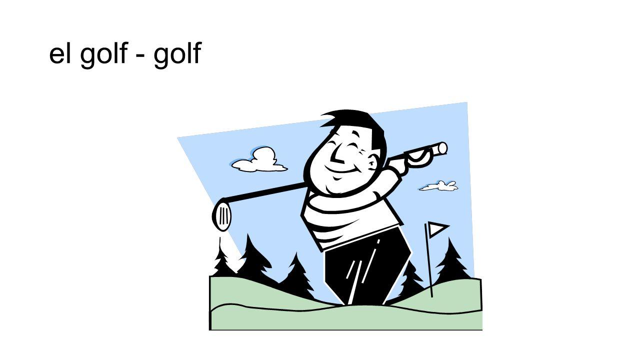 el golf - golf