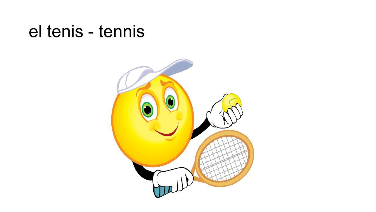 el tenis - tennis