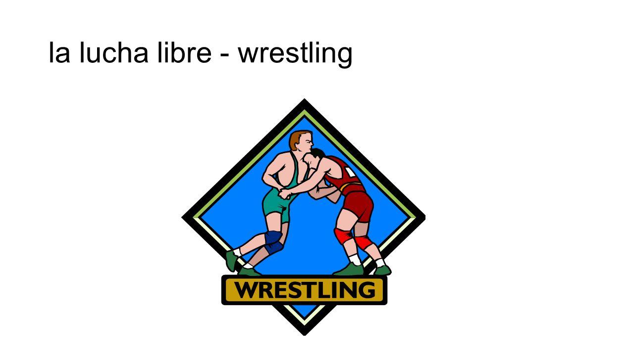 la lucha libre - wrestling
