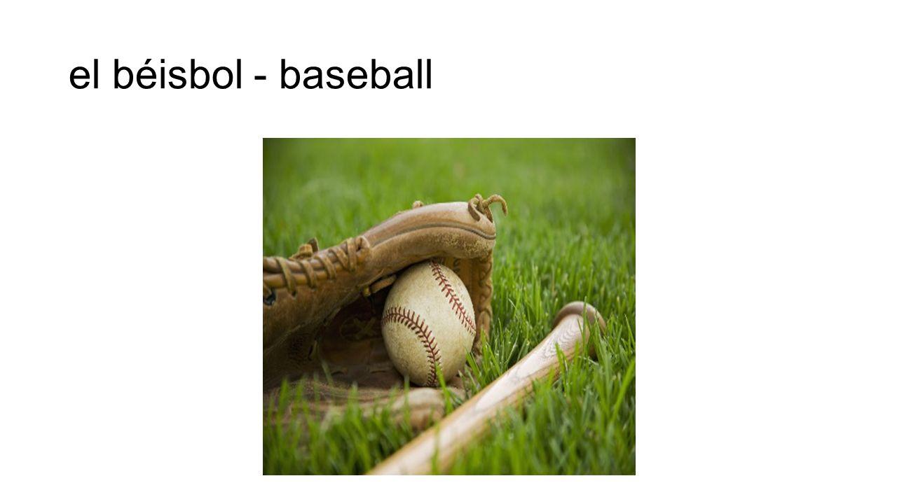 el béisbol - baseball