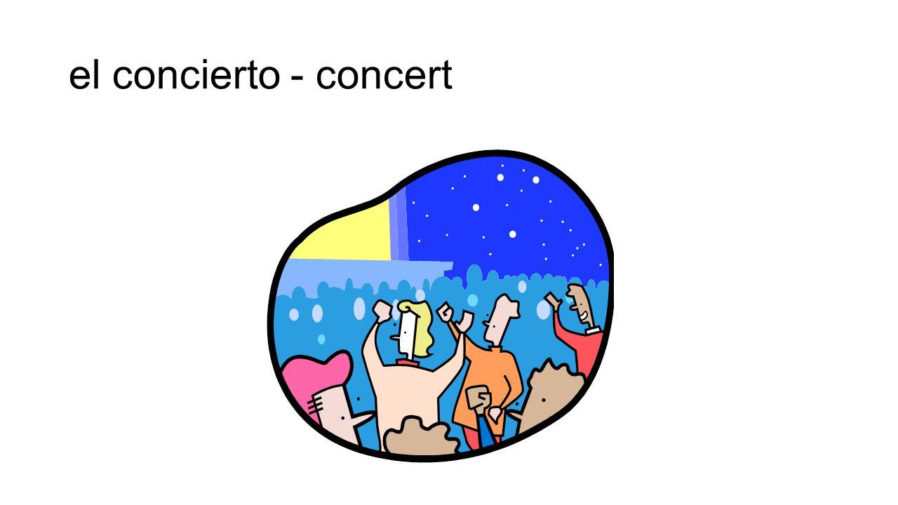 el concierto - concert