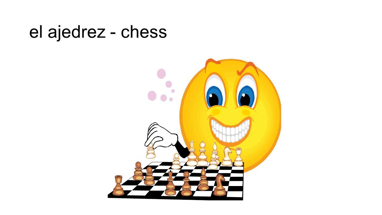 el ajedrez - chess
